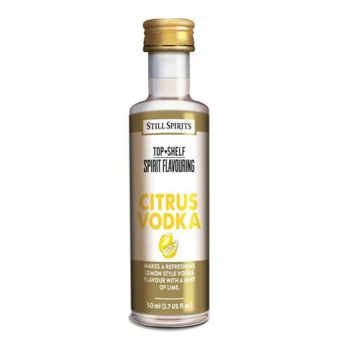 Citrus Vodka - Top Shelf Still Spirits