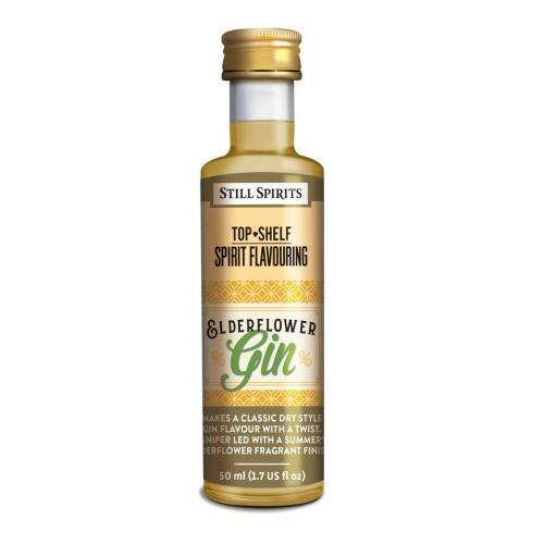 Elderflower Gin - Top Shelf Still Spirits