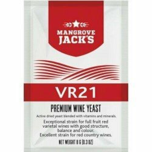 Wine Yeast VR21 - Mangrove Jack's