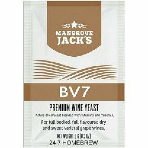 Wine Yeast BV7 - Mangrove Jack's