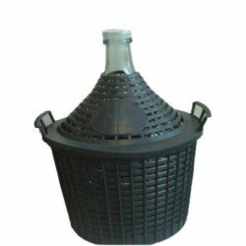 Demijohn 20Ltr c/w Basket