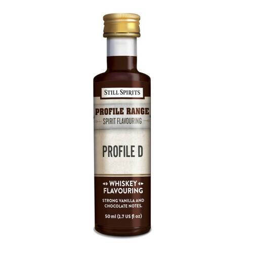Whisky Profile D - Still Spirits Profile Range