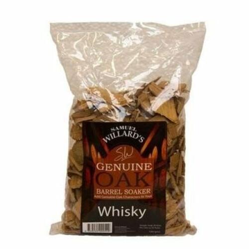 Rum Oak Chips 100g - Samuel Willard's