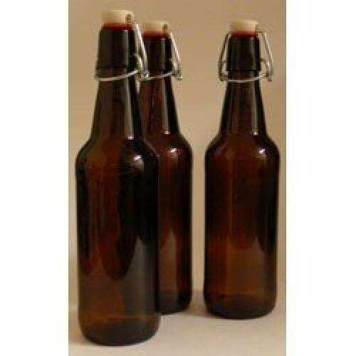 Bottles 750ml Amber Flip-Top - Grolsch (12)
