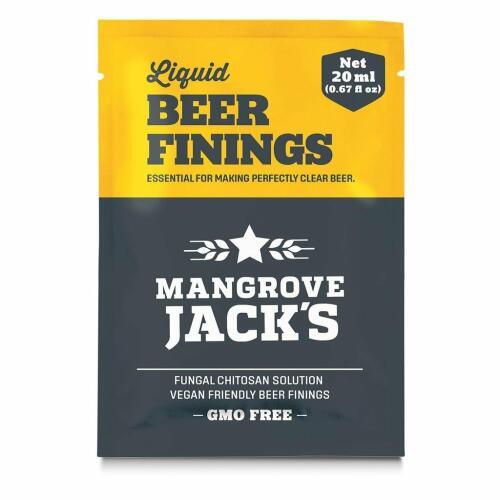 Liquid Beer Finings 20ml - Mangrove Jacks