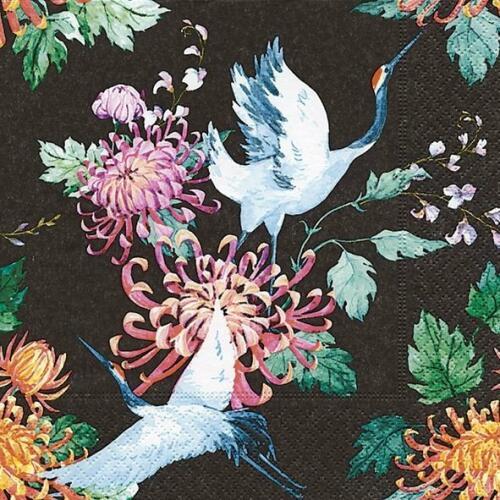 Luncheon Napkins (20) - Japanese Cranes