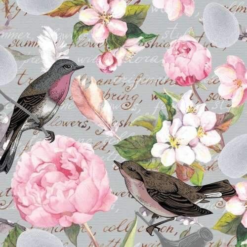 Luncheon Napkins (20) - Birds of a Feather