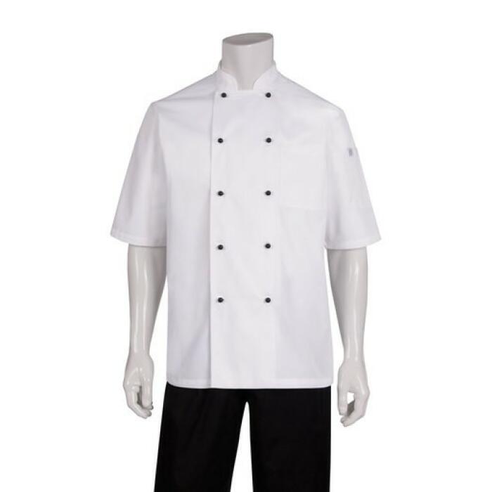 Macquarie White S/S Basic Chefs Jacket