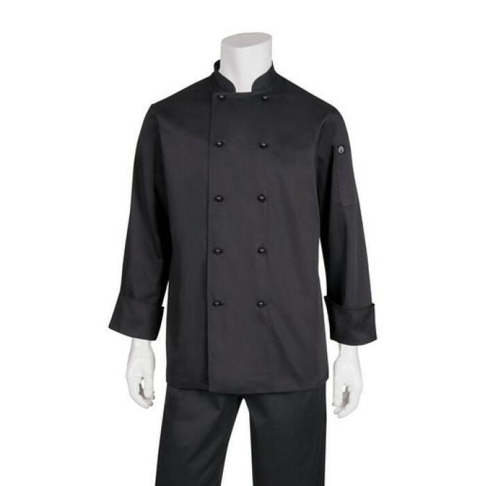 Darling Black L/S Basic Chefs Jacket
