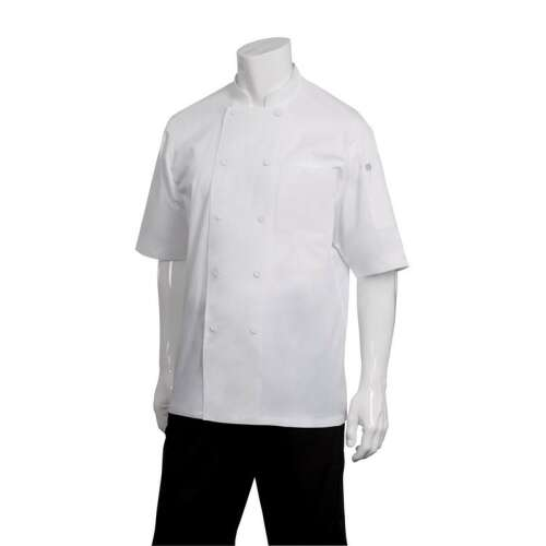 Montreal White Cool Vent Chef Jacket