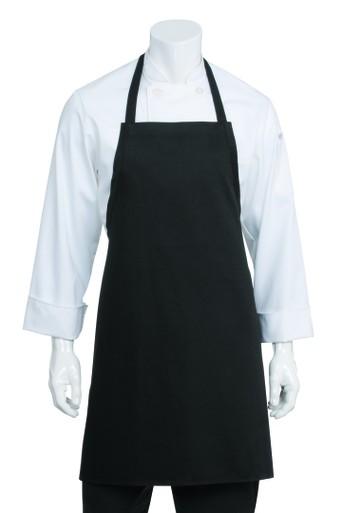 Chef Works Bib Apron - Black