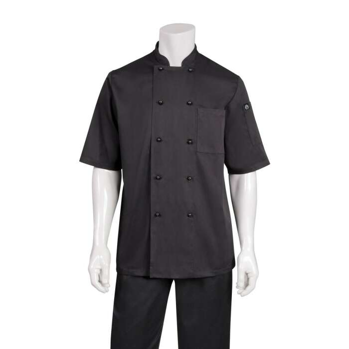 Montreal Black Cool Vent Chef Jacket
