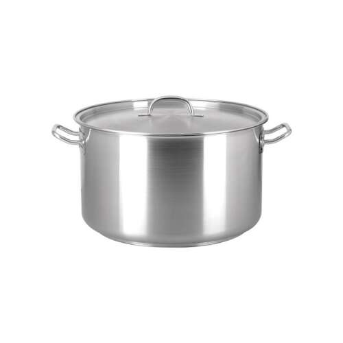 Stainless Steel Saucepot with lid - 30 lt