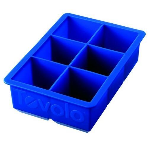 Tovolo XL Silcone King Cube Tray - Blue
