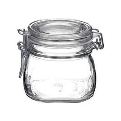 Fido Jar with Clear Lid - 0.56lt