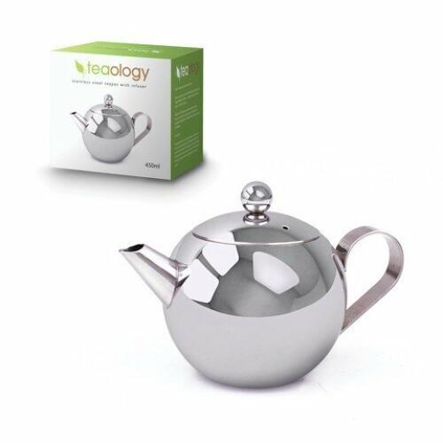 S/S Tea pot with Infuser 450ml