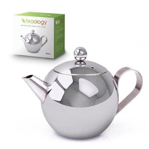 S/S Tea pot with Infuser 950ml