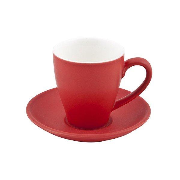 Bevande Cappuccino Cup Cono 200ml- Rosso