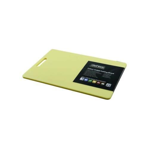 Cutting Board Poly. 300x450x12mm Yellow