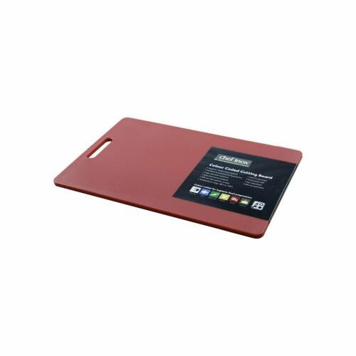 Cutting Board Poly. 300x450x12mm Red