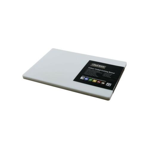 Cutting Board Poly. 300x450x20mm White