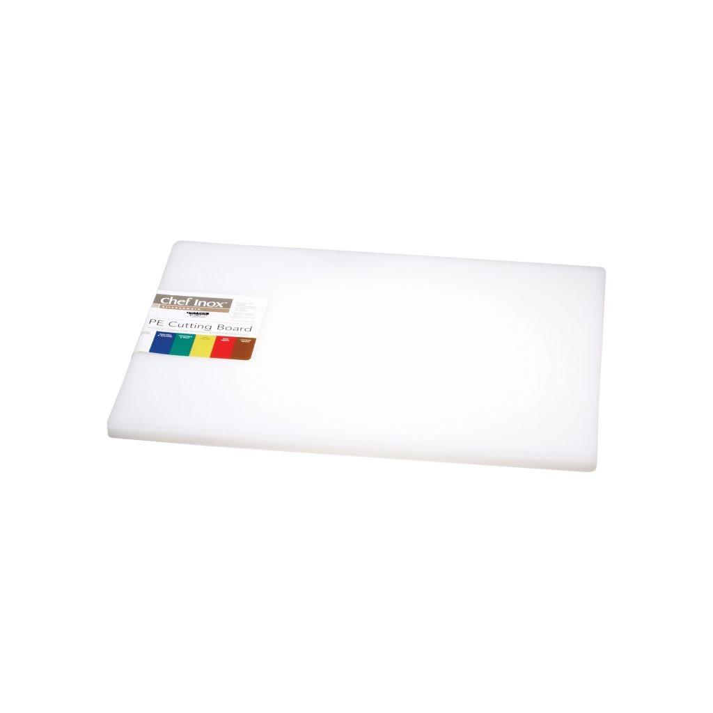 Cutting Board Poly. 450x610x19mm White