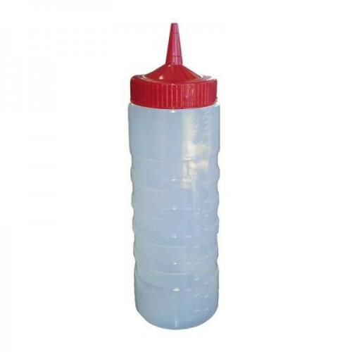 Sauce Bottle 750ml - Red Top