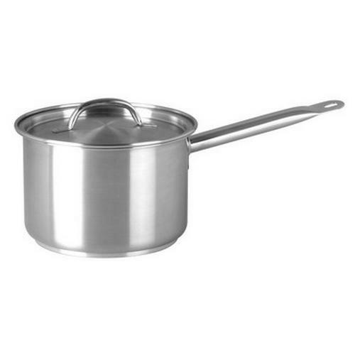 Saucepan S/S with lid - 2.2lt Chef Inox