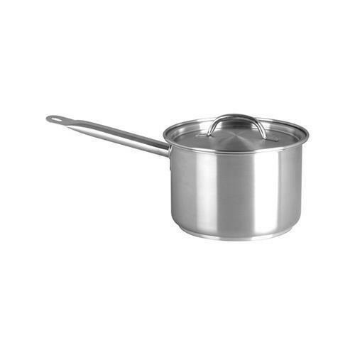 Saucepan S/S with lid - 3 lt Chef Inox