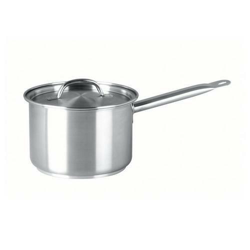Saucepan S/S with Lid 5.25L Chef Inox