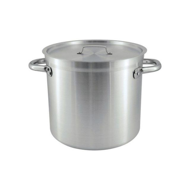 Stock Pot S/S 50L with Lid Chef Inox