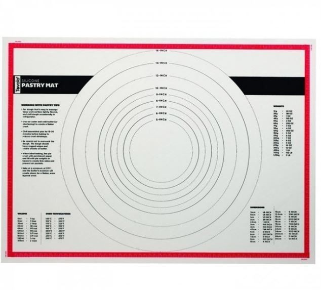 Silicone Pastry Mat 46x63cm Tovolo