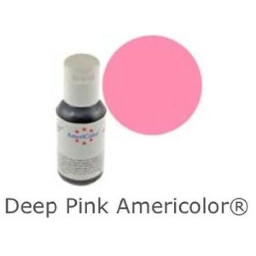 Americolor Soft Gel Paste - Deep Pink
