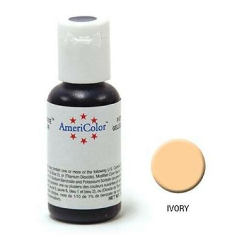 Americolor Soft Gel Paste - Ivory