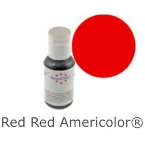 Americolor Soft Gel Paste - Red Red