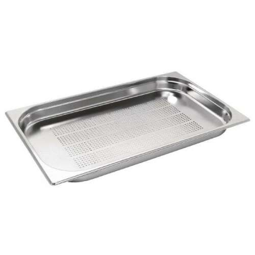 Steam Pan 1/1 20mm Perf H/D - Gastronorm