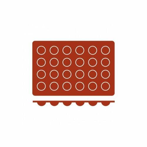 Silicone Mould Bola (24) 30x15 Frenti