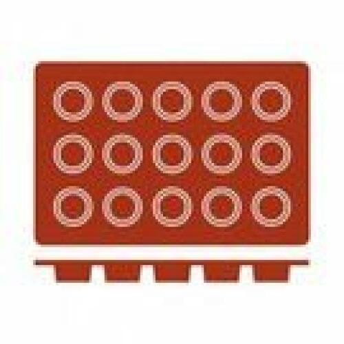 Silicone Mould Bola (15) 40x20 Frenti
