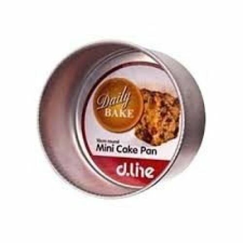 Round Mini Cake Pan 10cm x 6.35cm