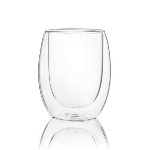Doubled Wall Glass - 220ml (6) Lexi