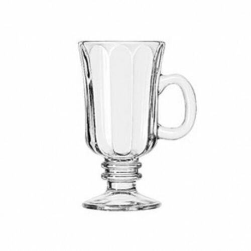 Irish Coffee Mugs Optic 244ml - Ribbed