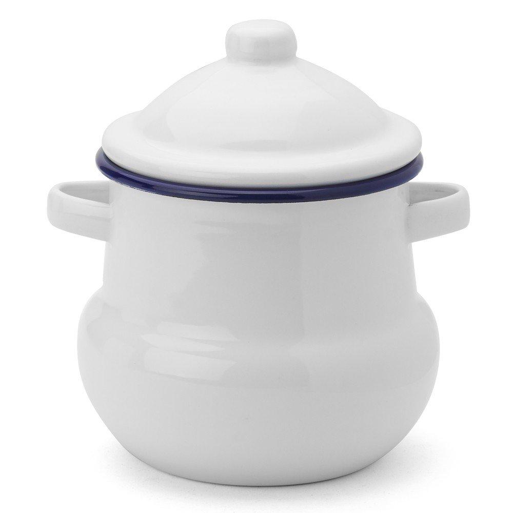 Enamel Sugar Pot 10cm