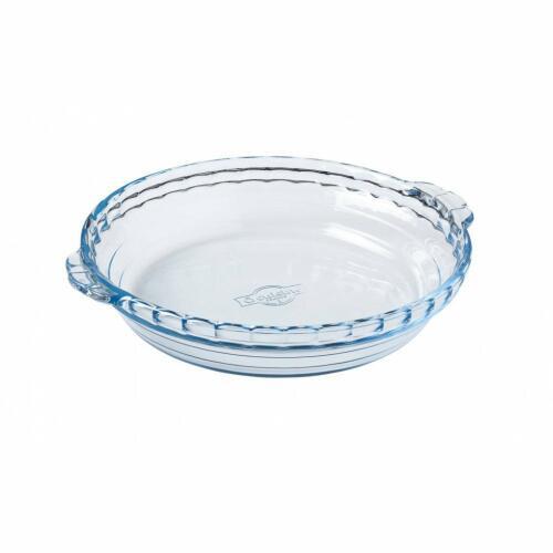 Pie Dish French Glass 26x23cm - O'Cuisine