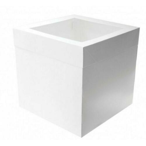 """Cake Box 12"""" High 40x40x30cm"""