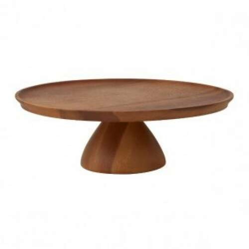Wooden Cake Stand 305x100mm