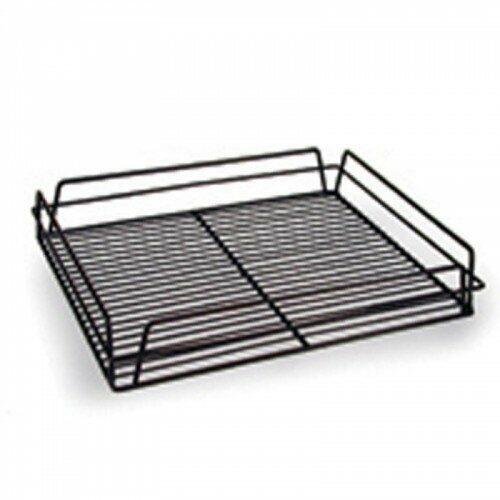 """Glass Trays 14""""x17"""" Black"""