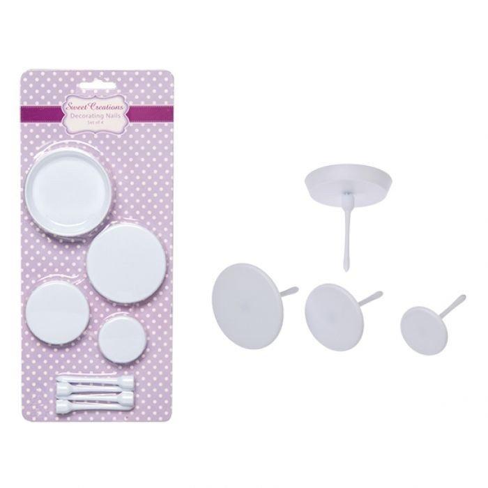 Decorating Nails - Set of 4