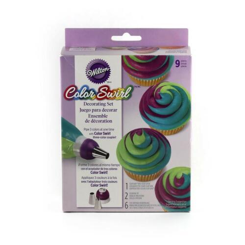 Color Swirl Decorating Set