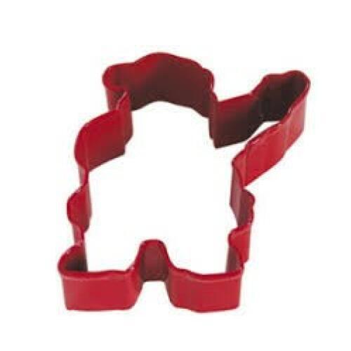 Santa 10cm Cookie Cutter Red