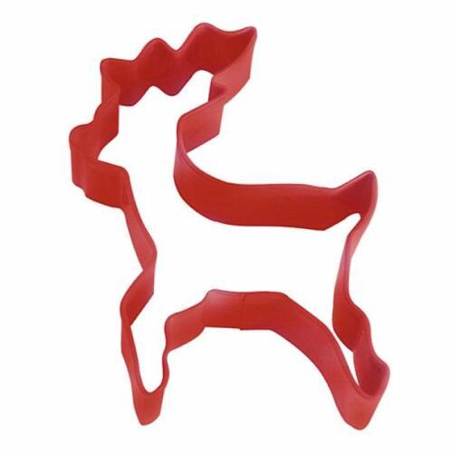 Reindeer 10cm Cookie Cutter Red